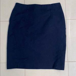 FREE W BUNDLE Navy blue work skirt